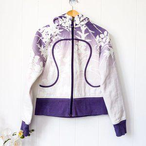 Lululemon Limited Edition Purple Floral Scuba